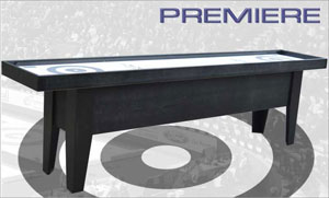 premiere curling table black