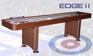 the edge 2 mahogany curling table